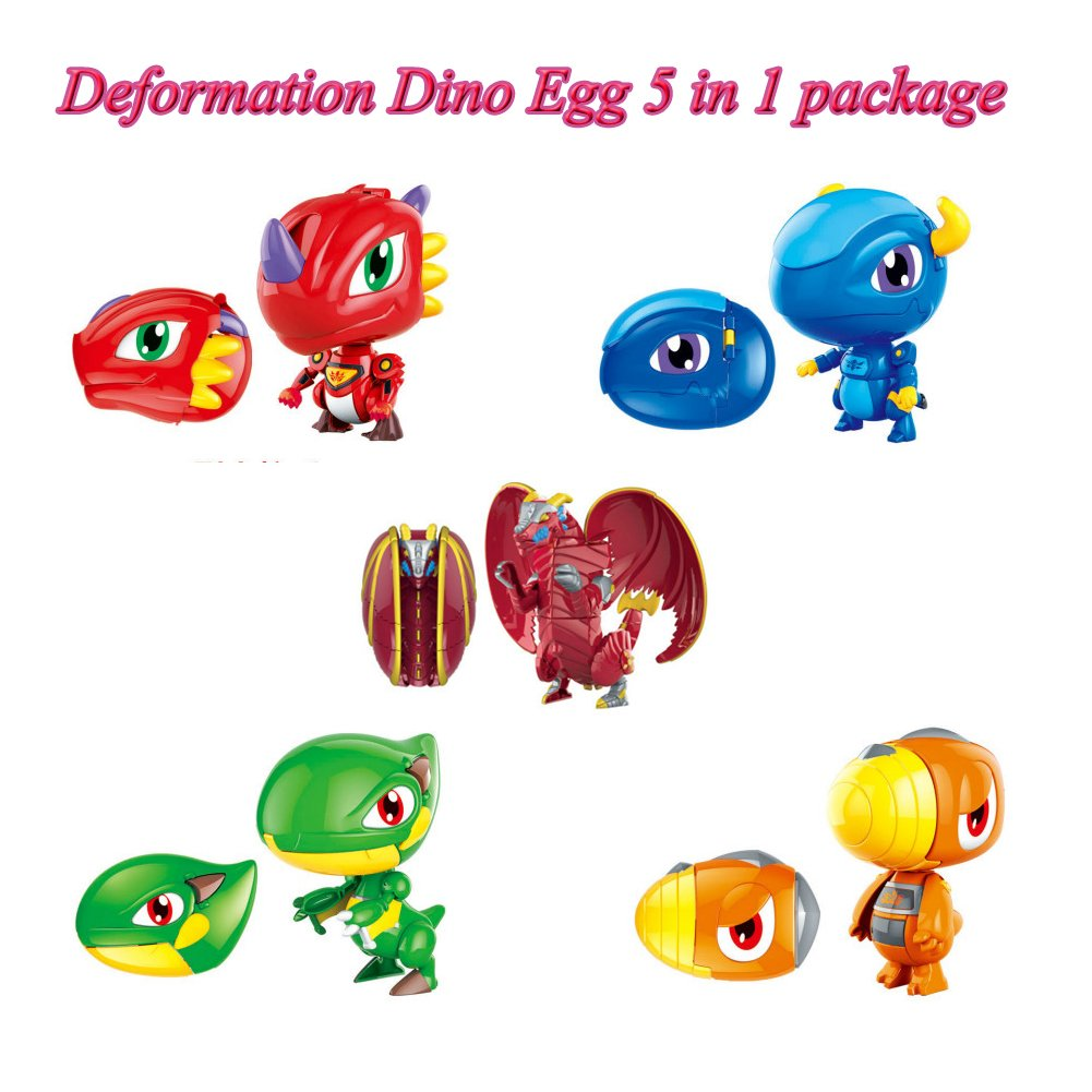 5 x 1 Package of Dino EGG Toy/ Christmas/ Easter Egg