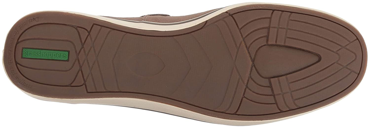 9ddee60606 Amazon.com | Grasshoppers Women's Windham Suede Boat Shoe | Loafers &  Slip-Ons