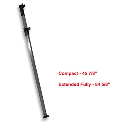 for Expedition EX100 One Push 10 x 10 ft. Straight Leg Canopy Extended Adjustable Leg with Slider & Cap Replacement Parts : Garden & Outdoor