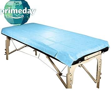 Bed facial massage sheet spa table