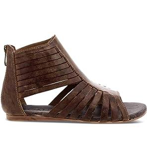 2a29f53a4b1 Amazon.com  ROAN Women s Poppy Leather Sandal  Shoes