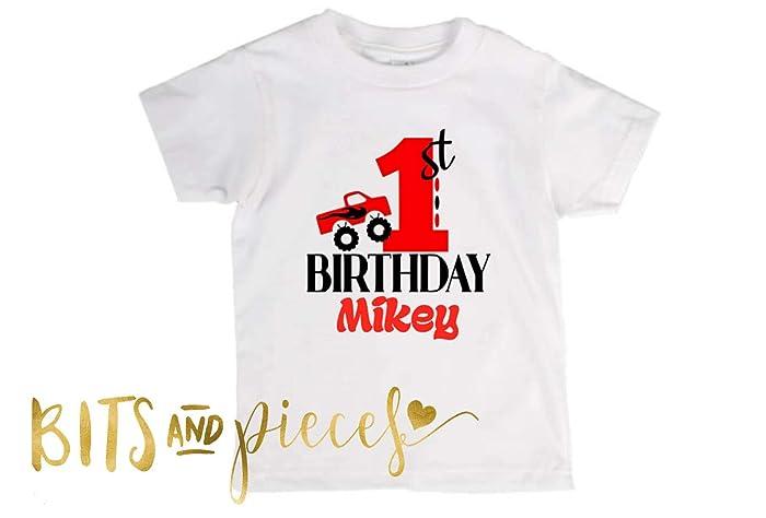Amazon Monster Truck Birthday Shirt
