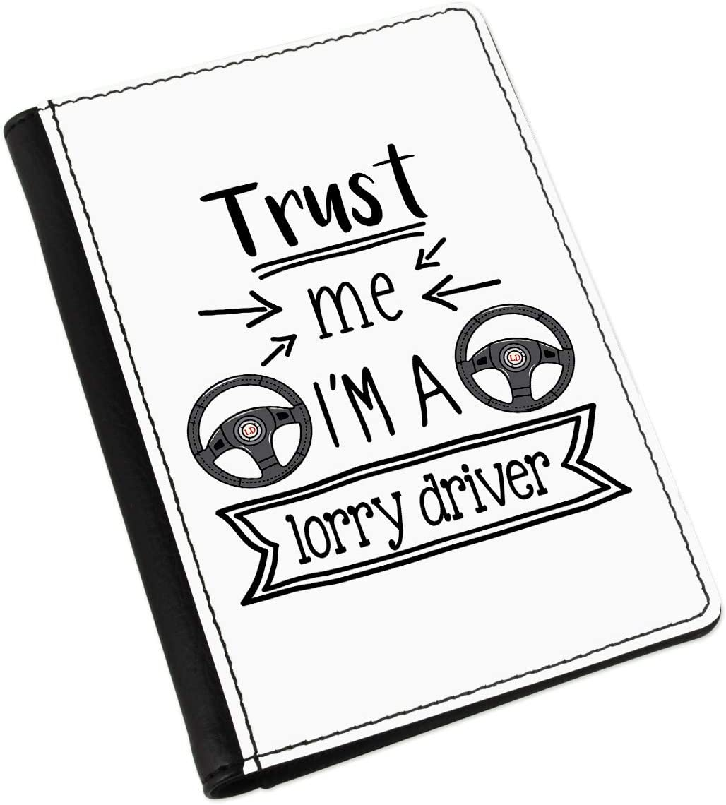 Trust Me Im A Lorry Driver Passport Holder Cover