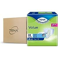 TENA Value, M, Case, 12ct (Pack of 8)