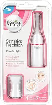 VEET Sensitive Precision pelo Trimmer afeitadora 1 St: Amazon.es ...
