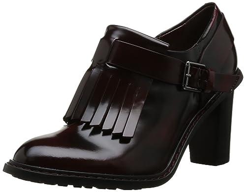Clarks Blues Melody Zapatos de tacón, color Ox Blood