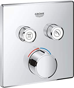 GROHE 29148000 | SmartControl Concealed Mixer | Square | 2 Valves