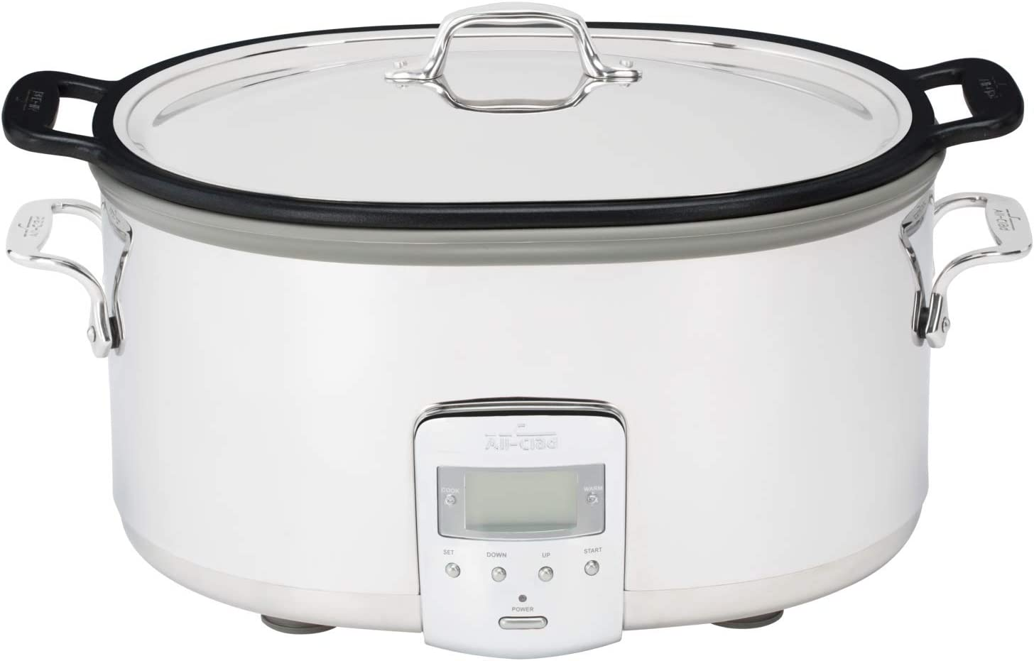 All-Clad SD700350 Slow Cooker, 7 Quart, Silver