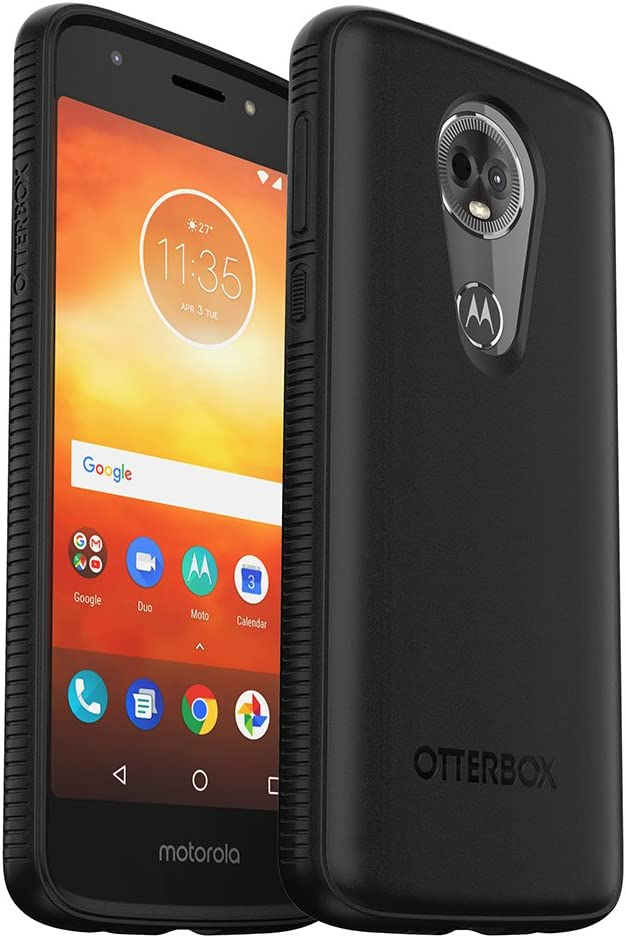 OtterBox Prefix Series Case for Moto e5 Plus - Retail Packaging - Black