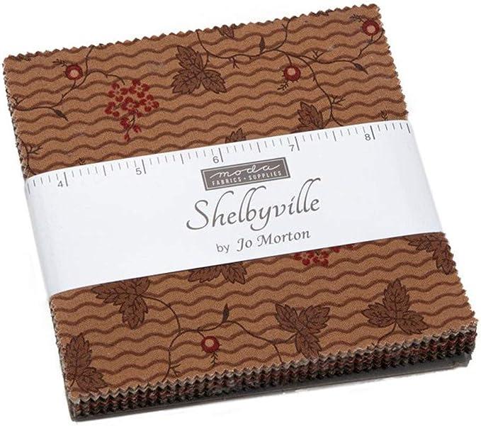 Shelbyville Charm Pack por Jo Morton; Cuadrados de tela precortada ...