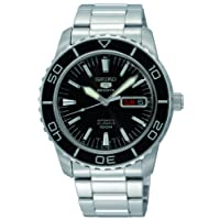 Seiko Men's Analogue Automatic Watch with Stainless Steel Bracelet – SNZH55K1