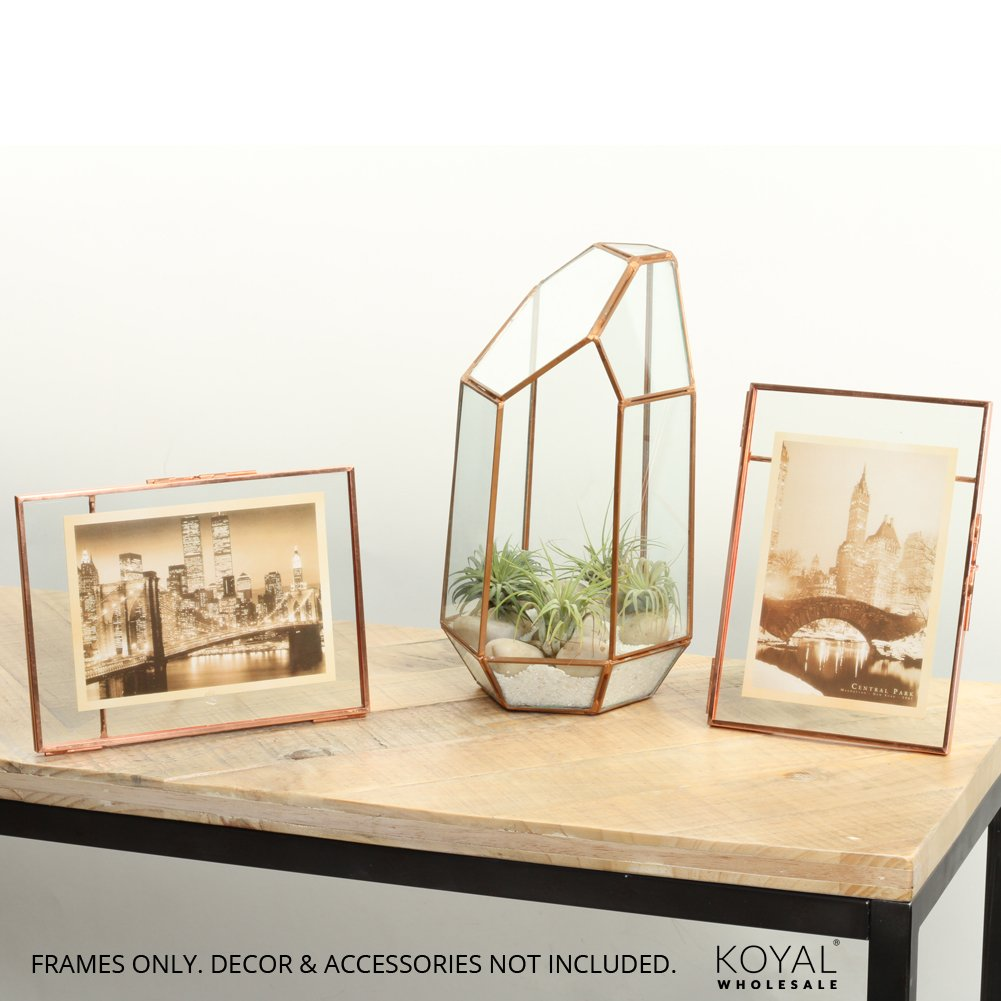 Amazon com - Koyal Wholesale Pressed Glass Floating Photo