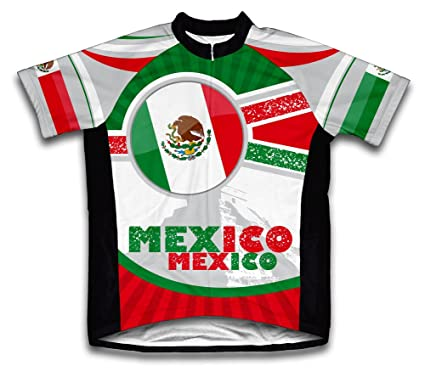 0251dfc6d Amazon.com   ScudoPro Mexico Short Sleeve Cycling Jersey for Youth ...