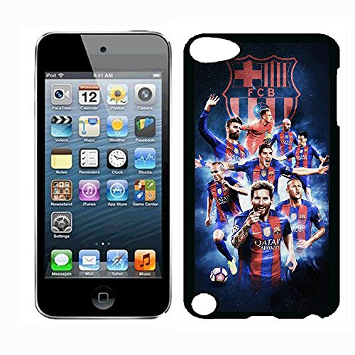 (Football Star Messi Ronaldinho Case for iPod Touch 5th iPod Touch 6th,PC Material Hard Case Never Fade)