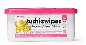 Petkin - Toallitas higiénicas para mascotas