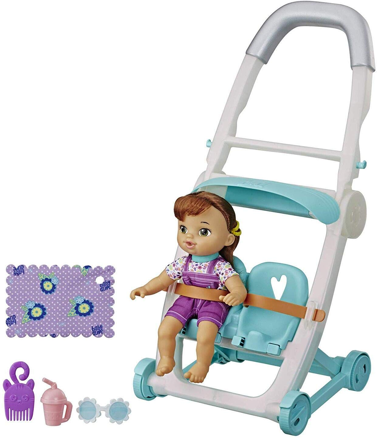 Baby Alive Littles, Push 'N Kick Stroller, Little Lucy