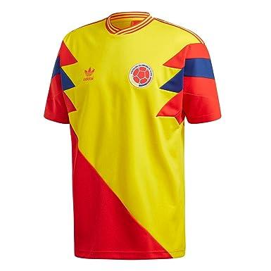 adidas T Shirt - Colombia Mashup GelbRotBlau Größe: S