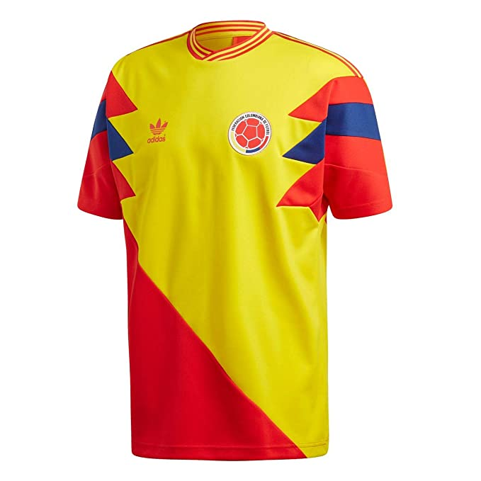 adidas Camiseta Colombia Mashup Amarillo/Rojo/Azul Talla: L (Large)