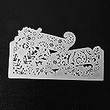 Kingko® 3D Sight Cutting Dies Metal Stencils Embossing For DIY Scrapbooking Album Paper Card Art Craft Gift (D)