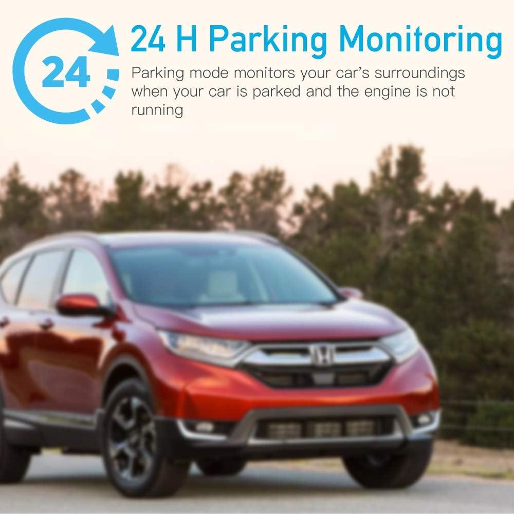 G-Sensor Night Vision Upgraded Version Loop Recording Dash Cam Veroyi Car Driving Recorder 1080P HD Car Camera Dashboard Camera Recorder with Motion Detection