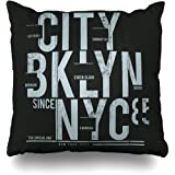 Retrospect Group PW018 Bitch Please Im from Brooklyn Throw Pillow