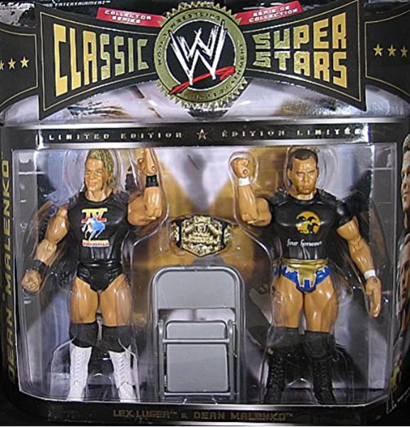 DEAN MALENKO WWE Classic Superstars 2003 Jakks Wrestling Figure WCW//WWF