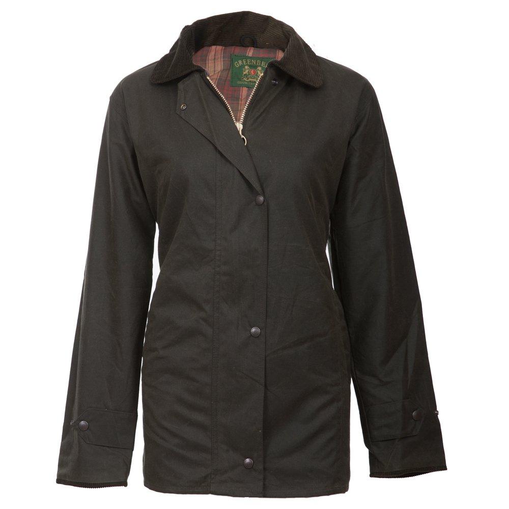 Wasserabweisend Englische CoatHochwertige Wachsjacke Outdoor Mantel Jacke Atmungsaktiv Diana Reitenamp; Warmes Damen Innenfutter Xs Short 1lKJcF