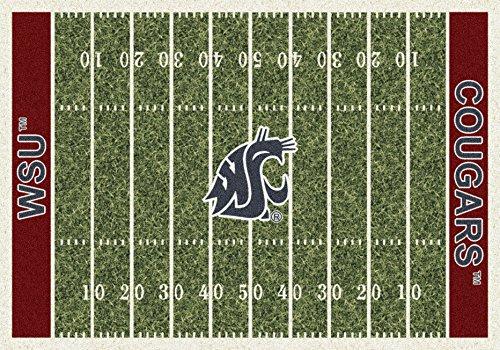 (Washington State College Home Football Field Rug: 5'4