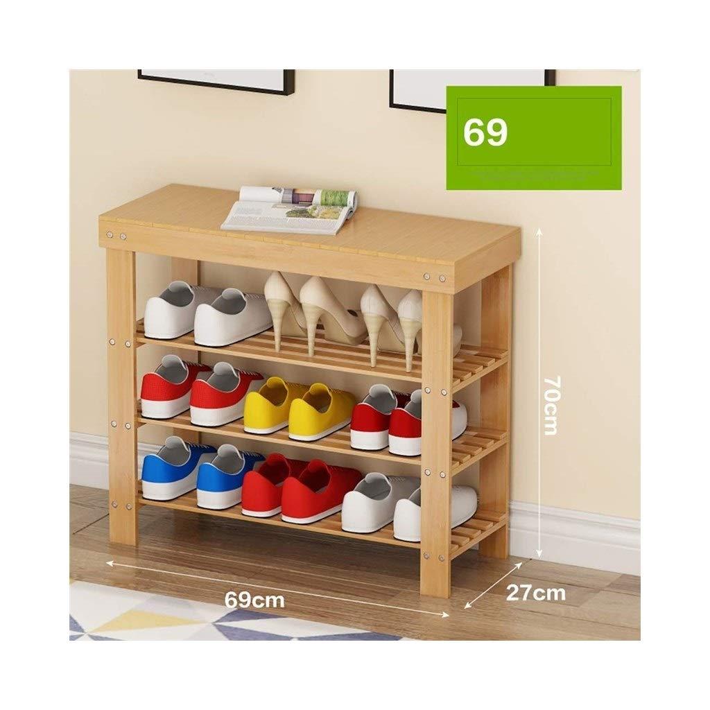 692770cm Three-Story shoes Bench Living Room shoes Rack Bedroom Corridor shoes Rack Storage Rack (Size   81  27  70cm)