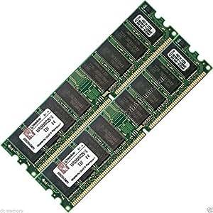 2GB (2x 1GB) DDR-266pc 2100memoria RAM de serie de escritorio Gateway 300