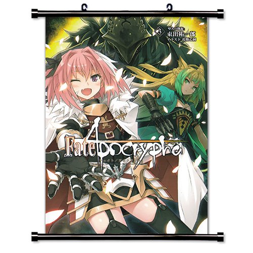 Fate Apocrypha Anime Fabric Wall Scroll Poster (32x47) Inches. [WP] Fate Apocrypha-15(L)