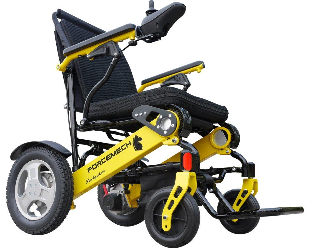Forcemech Power Wheelchair - Navigator, Electric Folding Mobility Aid