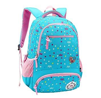 f302ab51f6d47 Comfysail Schulrucksack Mädchen Blumen Drucken Rucksäcke Backpack für die  primär und junior studenten