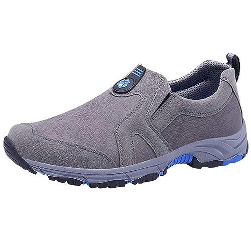 Zapatos Hombre Deportivas Hombre Ofertas Calzado De Gamuza para Hombres Calzado Cómodo Pantalones De Escalada: Amazon.es: Zapatos y complementos