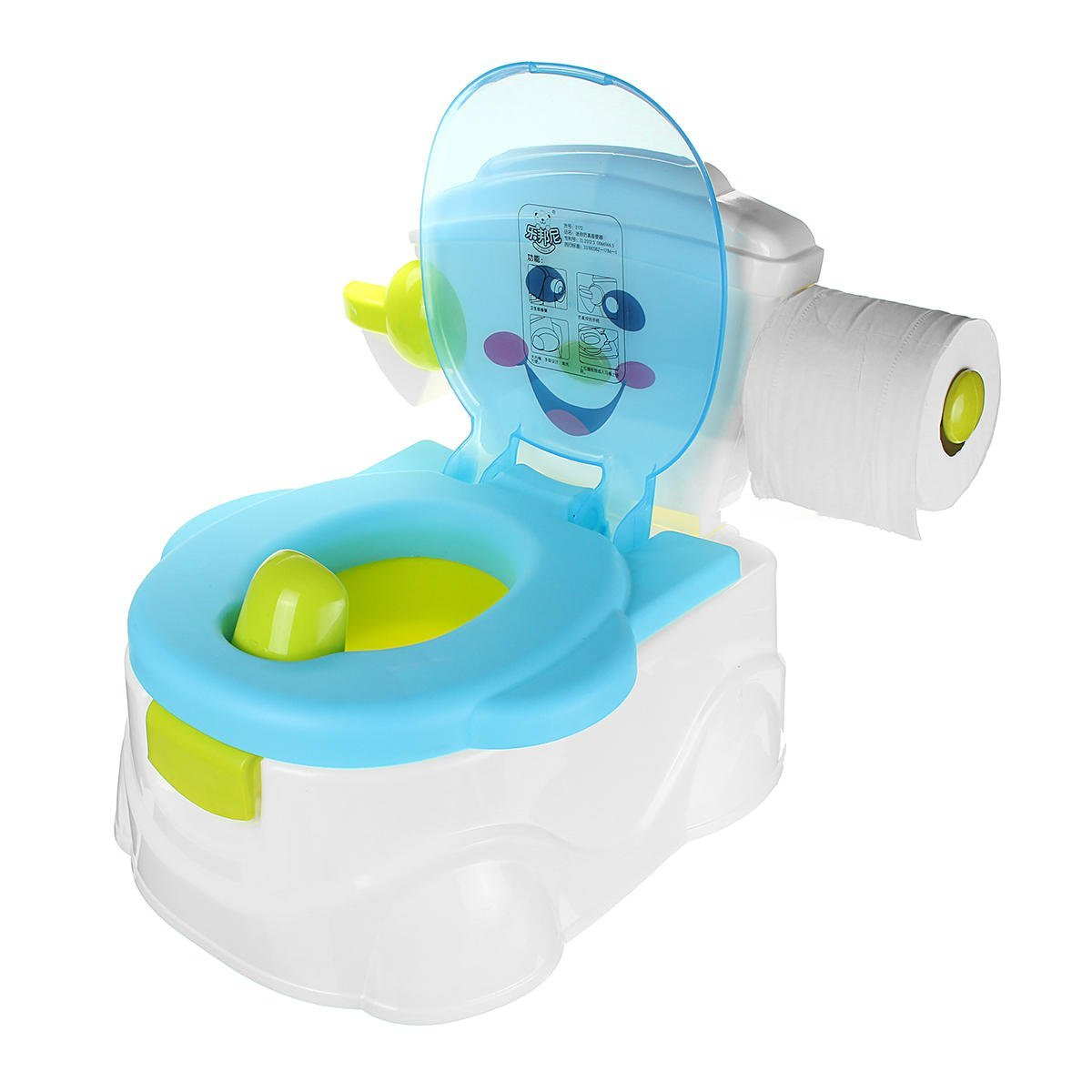 Infant Lavatory Flight Simulator - In1 Portable Music Kid Baby Toilet Trainer Child Toddler Potty Training Seat Chair - Immature Pamper Stool Cocker Facility Bathroom Link - 1PCs