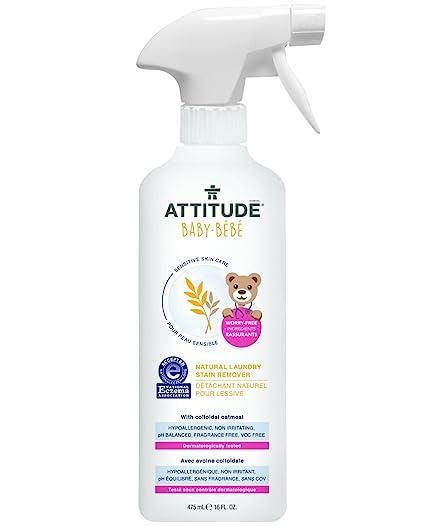attititude piel sensible bebé Natural lavandería Quitamanchas