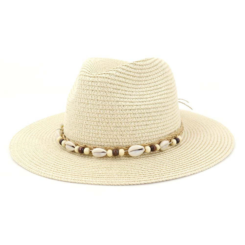 Vim Tree Men Women Fedora Straw Fashion Sun Hat Panama Hat