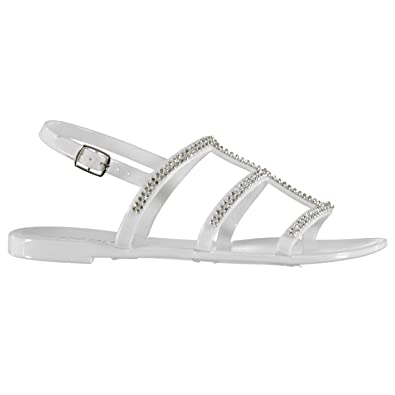 57882ecf1 Soul Cal Womens Jelly 3 Strap Sandals  Amazon.co.uk  Shoes   Bags