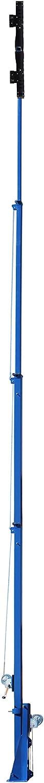 Four Stage Mast 2500 Watt High Intensity LED Light Tower -L5-30 Twist-25/° Extends up to 40 Feet 300,000 Lumens