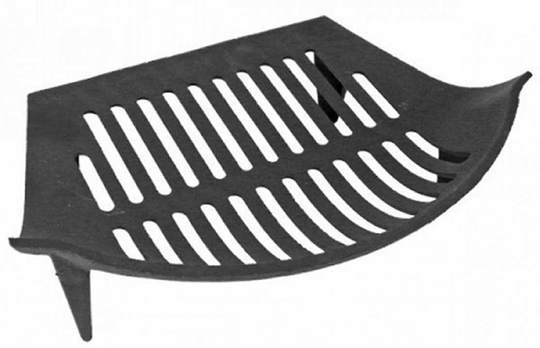 Cast Iron Bowed fire Grate Suitable for 14 Inch fire Backs Vectis