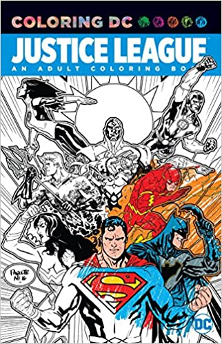 Amazon.com: Justice League: An Adult Coloring Book (Coloring Dc ...