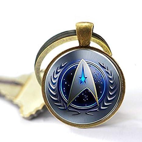 Amazon.com: Star Trek - Collar con colgante de alambre ...