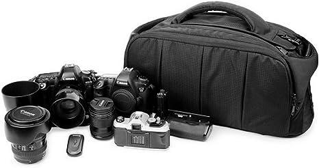 Mochila Impermeable para cámara réflex, con objetivos y soporte ...