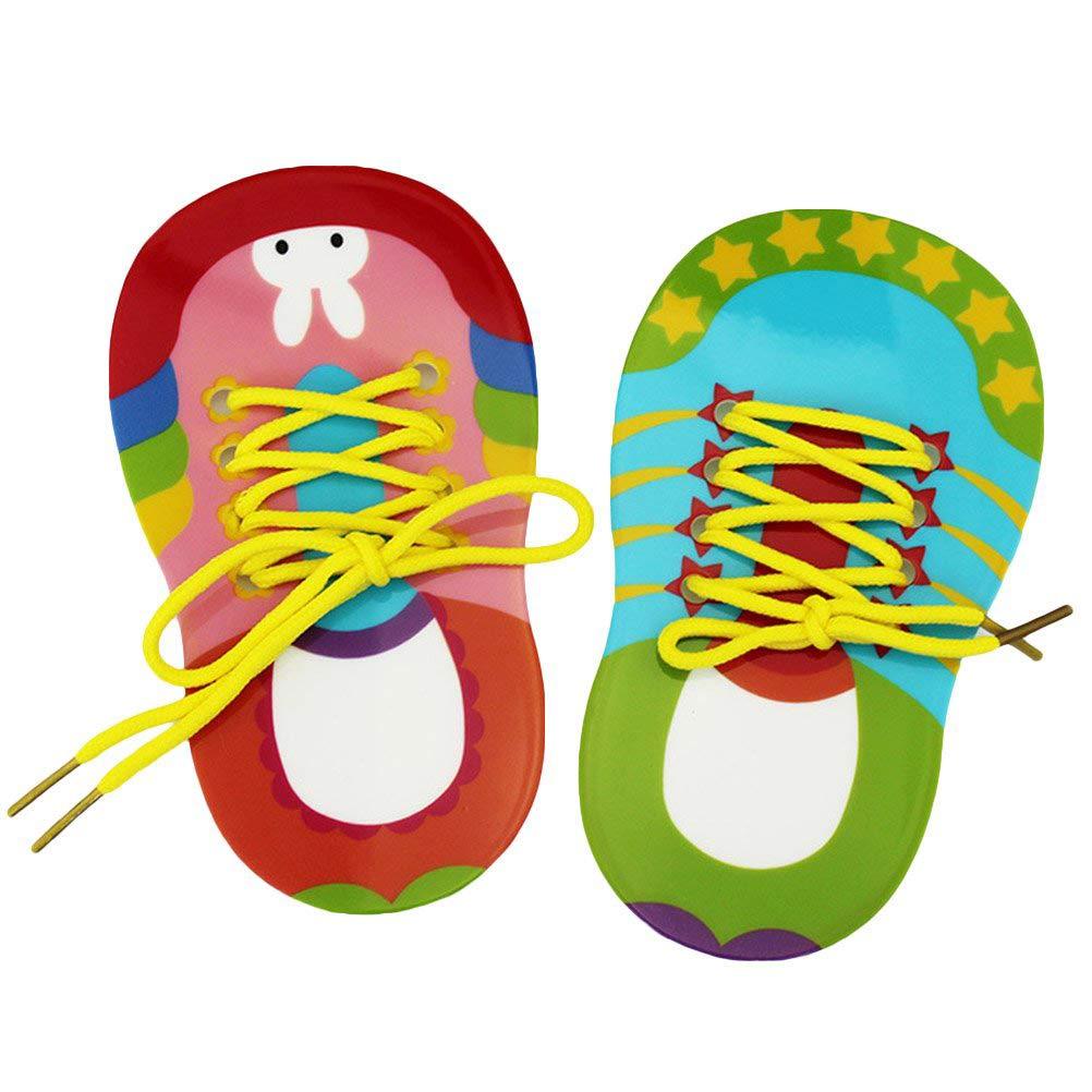 Egosy - Juego de 2 Zapatos, Cordones para bebés, niños, Corbata ...