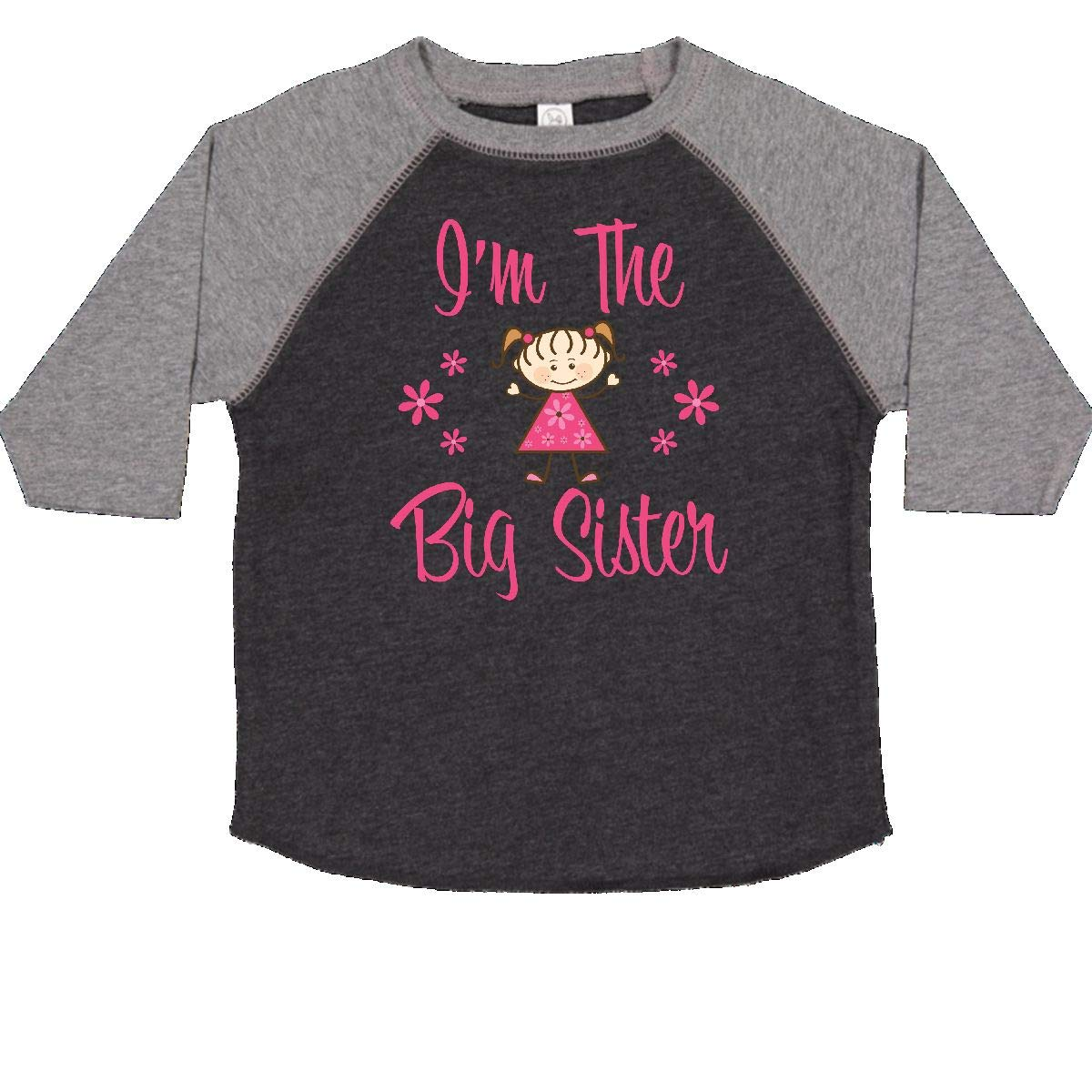 inktastic The Big Sister Toddler T-Shirt