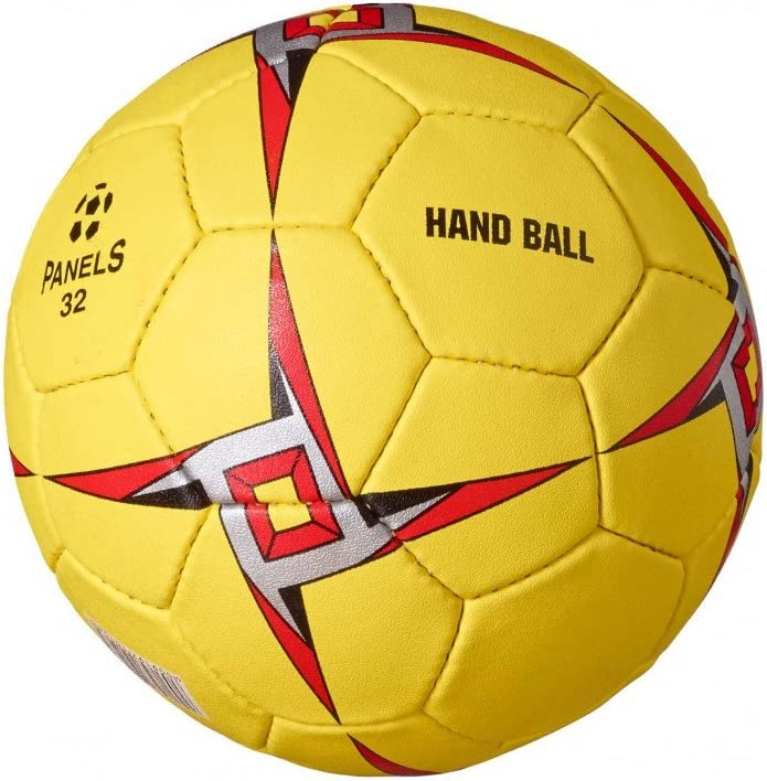 BONUS ET SALVUS TIBI (BEST) Mejor deporte mano bolas hombres - amarillo/rojo
