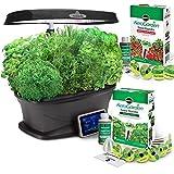 Miracle-Gro Aerogarden Bounty LED 9-pod with Gourmet Herbs and Bonus Cherry Tomato Kit