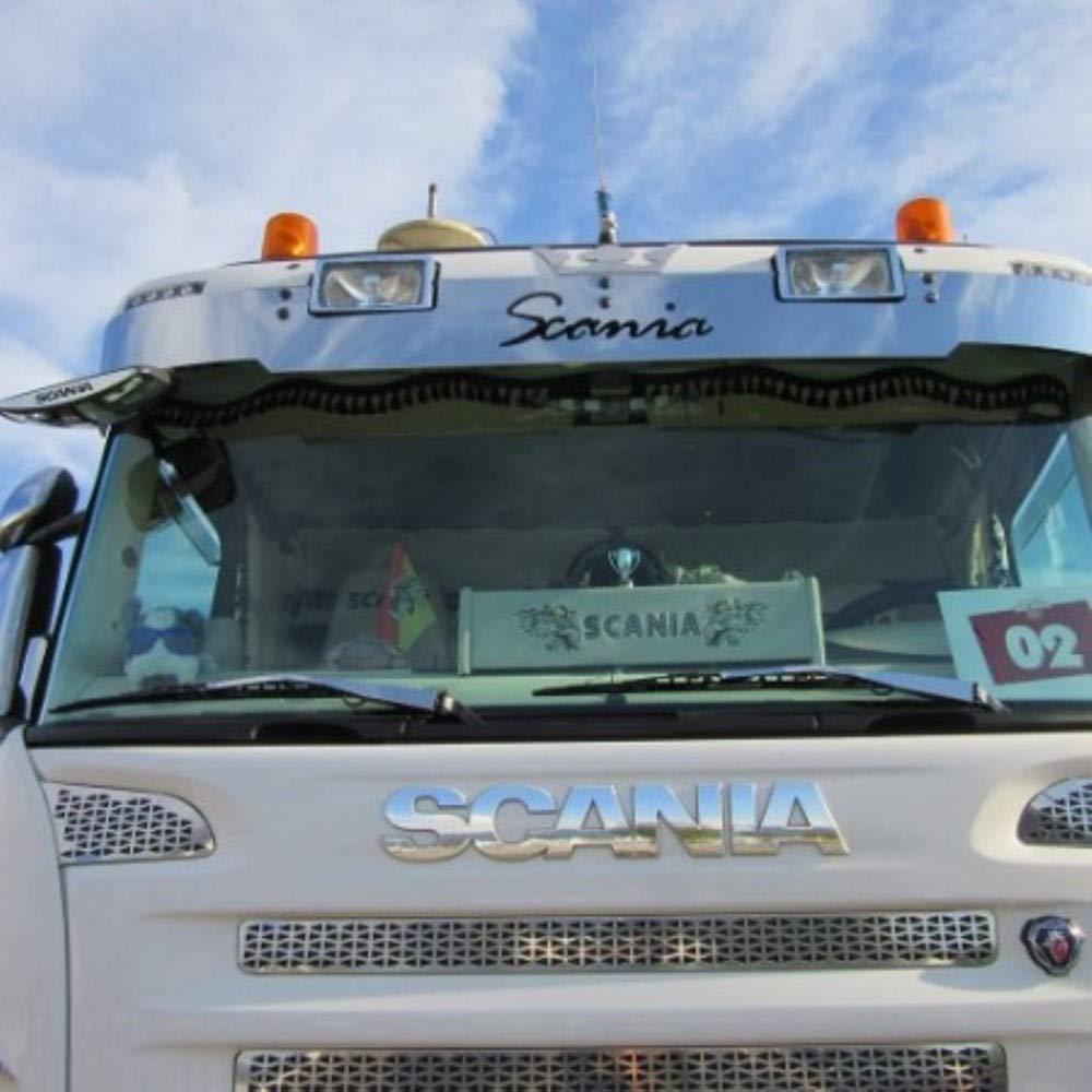 TRUCKDANET Accessori in acciaio INOX per camion SCANIA profili spazzole tergicristalli