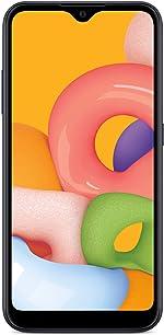 TracFone Samsung Galaxy A01 4G LTE Prepaid Smartphone - Black -