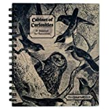 Action Publishing Cabinet of Curiosities · Bird JournalBook · Side-Bound Notebook, 140 Off-White Pages with Various Bird Illustrations (7 x 8.5 inches)